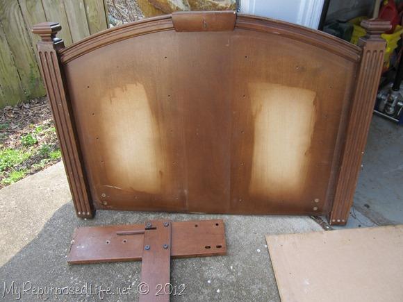 upcycyled headboard chalkboard (6)