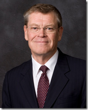 Dennis Brimhall, president of FamilySearch, International