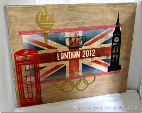 London Olympics Canvas
