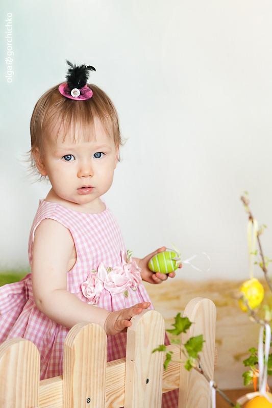 Детский Весенне-пасхальный фотопроект Прикосновение весны