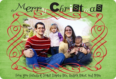 2011 Doable Diapers Christmas Card jpg