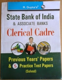 sbi associate banks clerk solved papers book review,buy sbi associate bank clerk exam solved papers