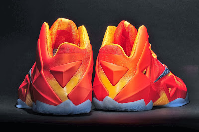 nike lebron 11 gr atomic orange 4 05 forging iron New Look at Forging Iron LeBron XI and Its Sick Packaging!