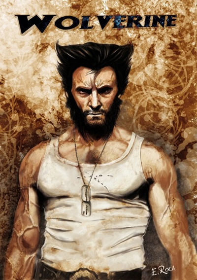 Wolverine, Fan Art de Eduard Roca