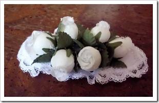 Flower and Lace Barrette Tutorial