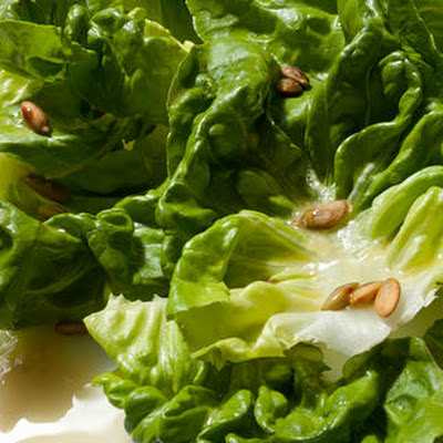 Butter Lettuce and Pumpkin Seed Salad