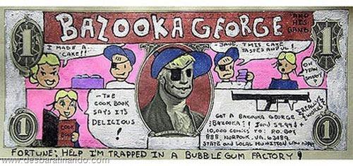 notas cédulas dollar geek nerd zoada desbaratinando  (1)