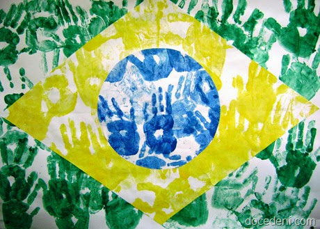 bandeira com mãos
