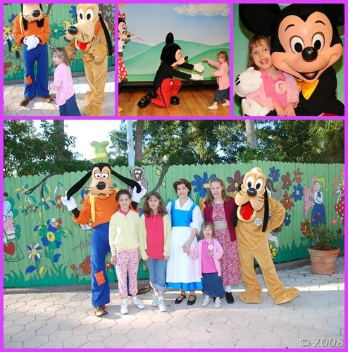 Meeting MORE Disney Characters
