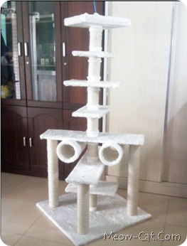 how to building cat tree - type 1 cat tree