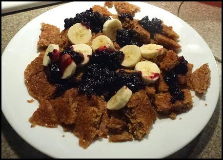 05 - Buckwheat Corncakes with Bananas and Wild Blueberries