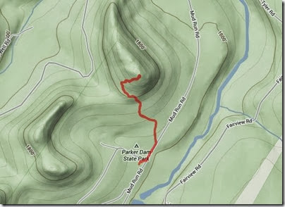 State Parks Terrain Track