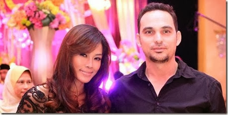 Gambar terkini Ungku Azhar, suami Linda Onn 1