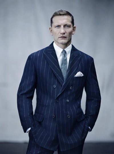 Darren Morgan @ Nev by  Boo George for Bergdorf Goodman, F/W 2011.  Styled by Bruce Pask