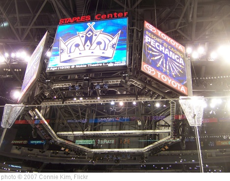 'Kings vs. Detroit - Jumbo Tron' photo (c) 2007, Connie Kim - license: http://creativecommons.org/licenses/by-sa/2.0/