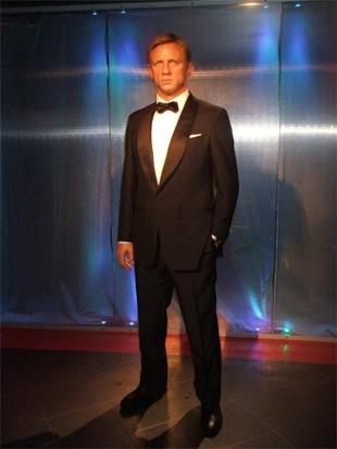 Daniel Craig model at Madame Tussauds