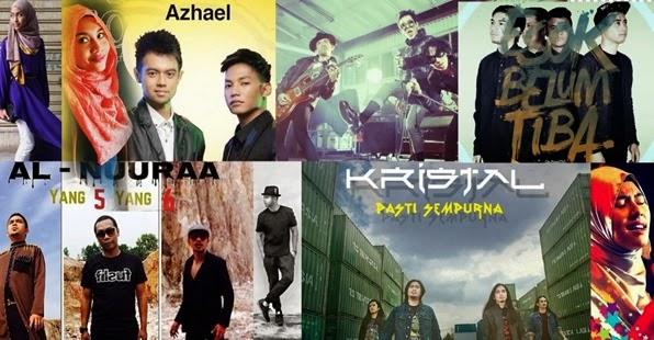 Lagu Melayu Top Masa Kini 2015 #1