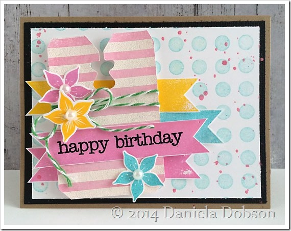 Create Your Everyday Bread Tag Happy Birthday Card