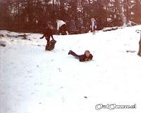 Sneeuwpret in de Wolfskuil