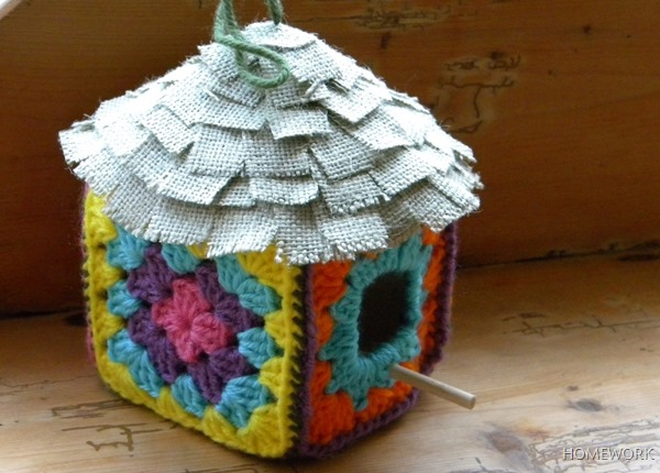 Crochet Birdhouse4