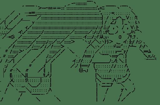 黒雪姫 & 上月由仁子 ファイト (アクセル・ワールド)