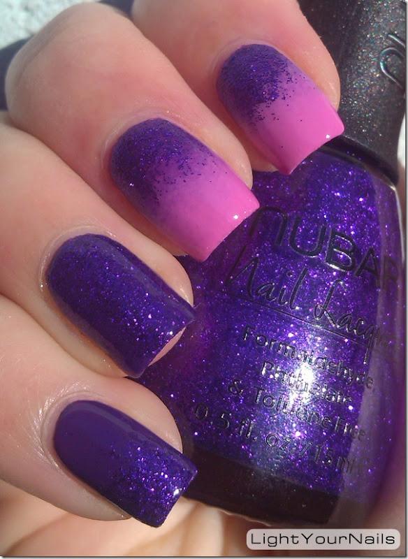 V nail art