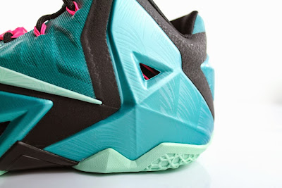 nike lebron 11 gr south beach 5 08 Release Reminder: Nike LeBron 11 South Beach