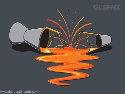 desenhos geeks nerds geek nerd desbaratinando glennz (6)