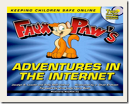 Faux Paw's Adventures in Cyber Space - young child videos for internet safety