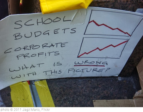 'Charting School Budgets, Corporate Profits' photo (c) 2011, Jagz Mario - license: http://creativecommons.org/licenses/by-sa/2.0/