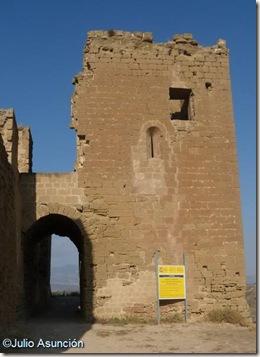 Torre albarrana - Castillo de Montearagón - Huesca
