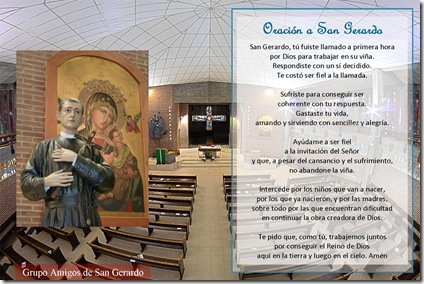 Oración San Gerardo