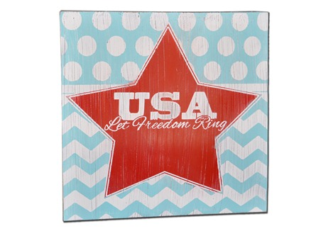 USA with Star