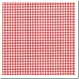 Linha Basic - Quadriculada Dupla (Vermelho)