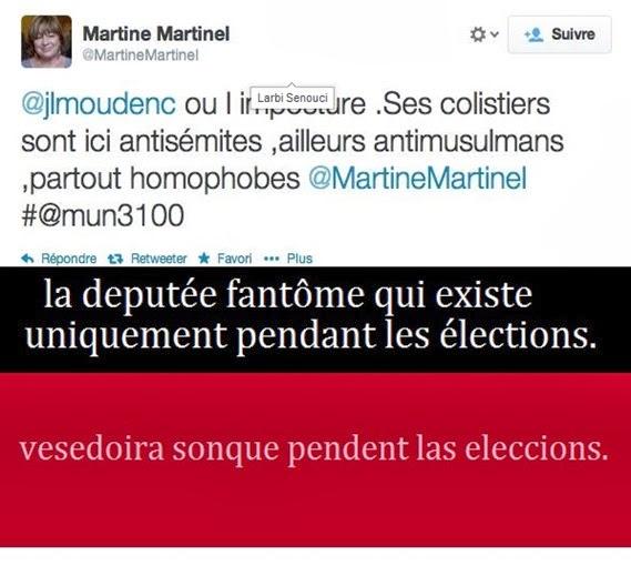 Martinel vesedoira sonque pendent las eleccions