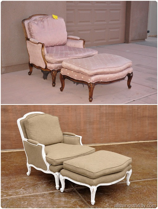 Reupholstering furniture