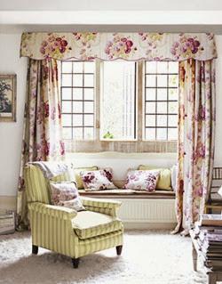 Pelmet & long curtains | Lavender & Twill