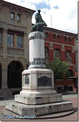 Monumento a San Francisco de Asís - Pamplona