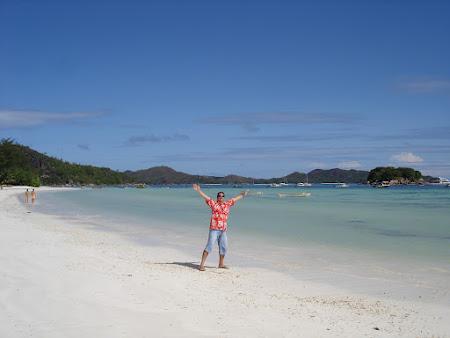 Plaja Anse Volbert Praslin - plaje exotice Seychelles