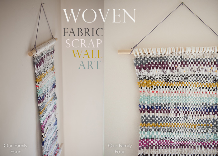 Fabric Scrap Wall Art WM