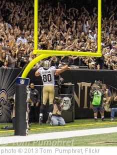 'Jimmy Graham  NFC Offensive Player of the Week 09/25/2013' photo (c) 2013, Tom  Pumphret - license: https://creativecommons.org/licenses/by-nd/2.0/