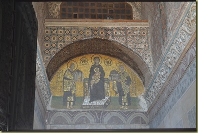 Istanbul St Sophia Mosaic