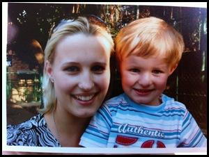 HENNING ChanelleWITHCHILDwas shot dead Nov82011 FAERIEGLEN dropping child off at creche