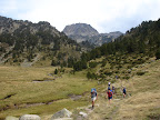 Walking on the GR107 from the Refuge des Besines to L