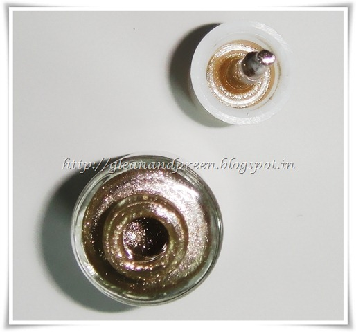 Texture of VOV Metallic Nail Enamel