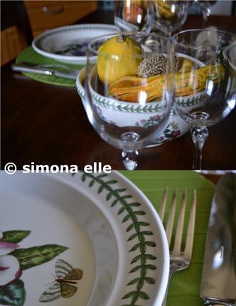 autunno zucche sottopiatti verdi 2