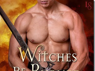 Cover Reveal: Witches Be Burned (Magic & Mayhem #2) by Stacey Kennedy