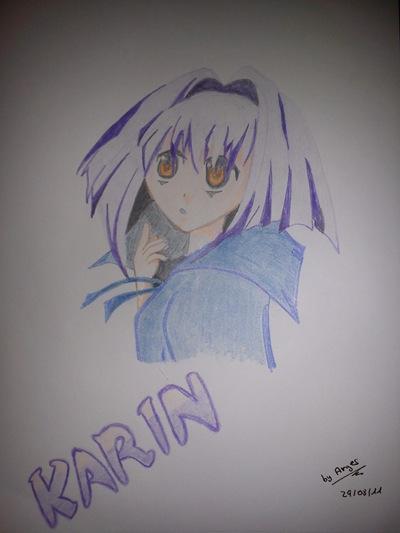 Fan Art de Karin por David Segura