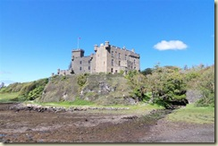Dunvegan Castle from across bog (Small)