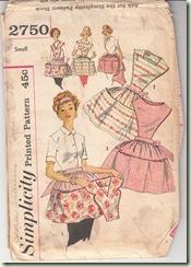 Apron Pattern Envelope